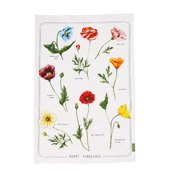 Poppy Tea Towel