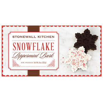 Snowflake Peppermint Bark