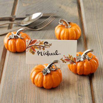 Pumpkin Place Setting Set