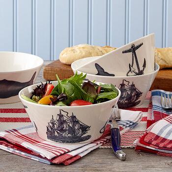 Scrimshaw Salad Bowl