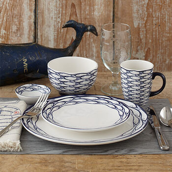 School of Fish Dinnerware