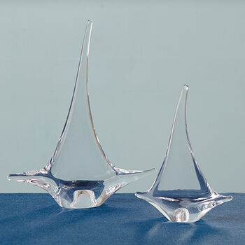 Glass Sailboats