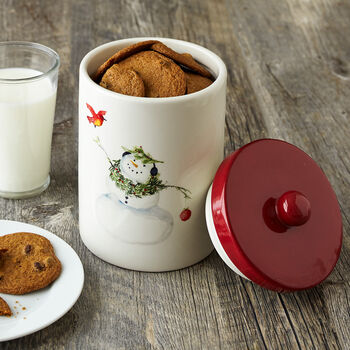 Snowman Canister Assorted