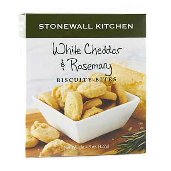 White Cheddar & Rosemary Biscuity Bites