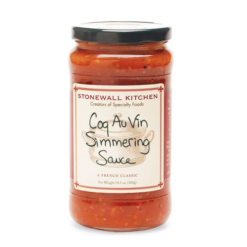 Coq Au Vin Simmering Sauce