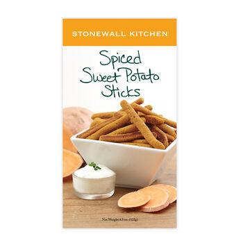 Spiced Sweet Potato Sticks