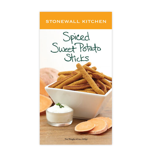 Spiced Sweet Potato Sticks