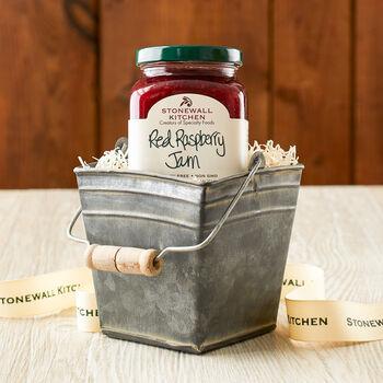 Raspberry Tin Bucket Gift