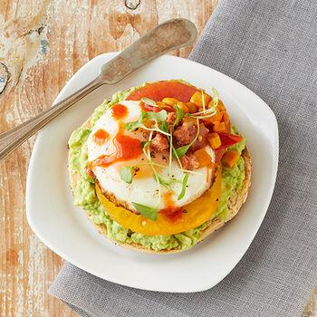 Mexican Breakfast Bagel
