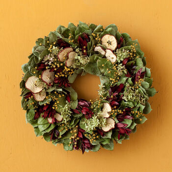Apple Harvest Wreath
