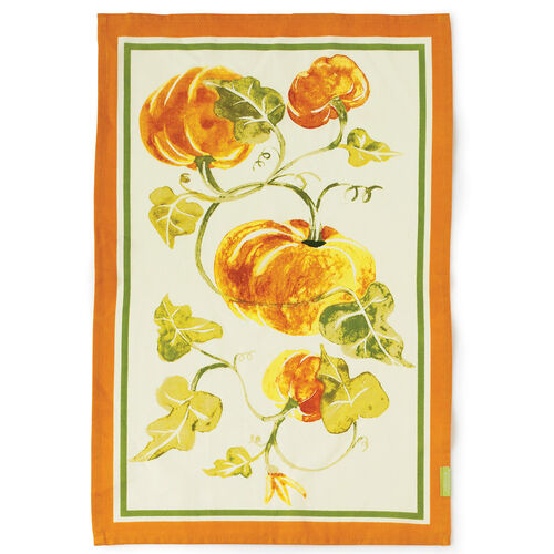 Pumpkin Tea Towel