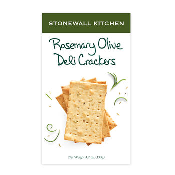 Rosemary Olive Oil Deli Cracker