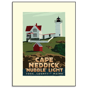 "Cape Neddick ""Nubble Lighthouse"""