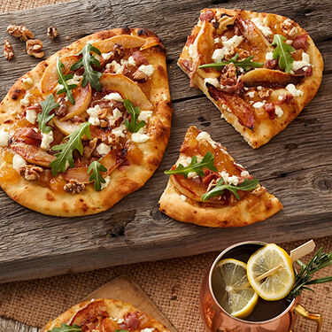 Savory Pear Flatbread Pizza