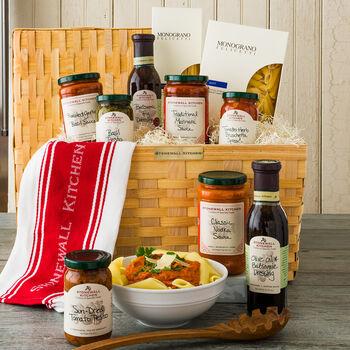 Deluxe Italian Gift Basket