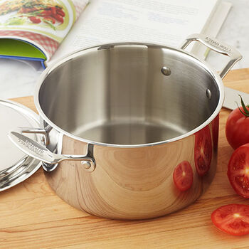 Stock Pot with Lid - 4 Qt