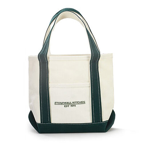 Small Forest Green Canvas Tote Bag | Kitchen & Home | Stonewall ...
