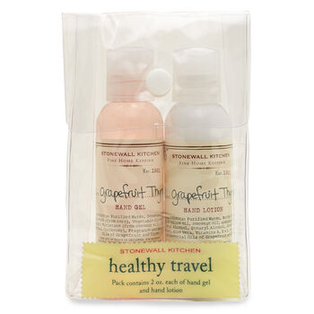 Grapefruit Thyme Travel Set