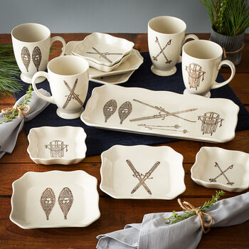 Winter Sports Dinnerware