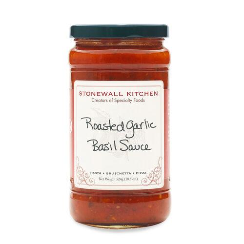Roasted Garlic Basil Sauce