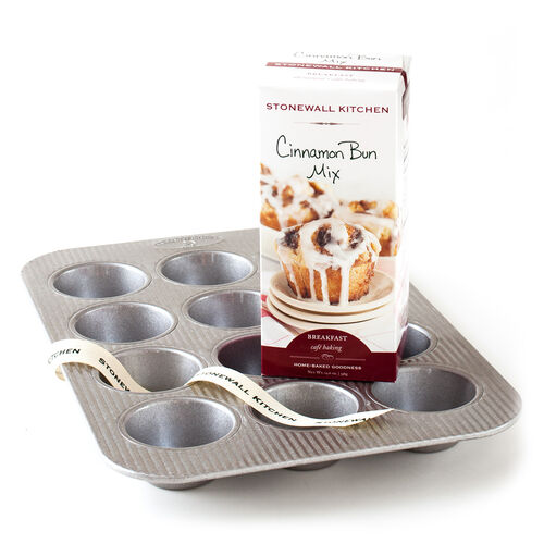 Cinnamon Bun Mix and Pan Grab & Go Gift