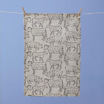Prime Cut Tea Towel