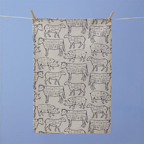 Prime Cut Tea Towel