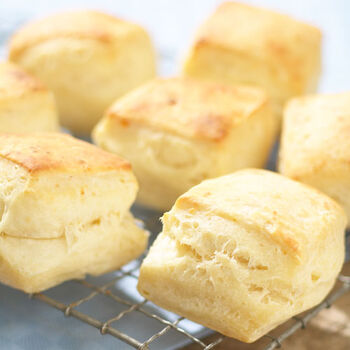 Layered Cream Cheese Biscuits