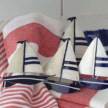 Sailboat Napkin Rings