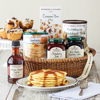 New England Breakfast Gift Basket (Without Meat)