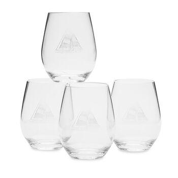 Acrylic Sailboat Stemless Glasses
