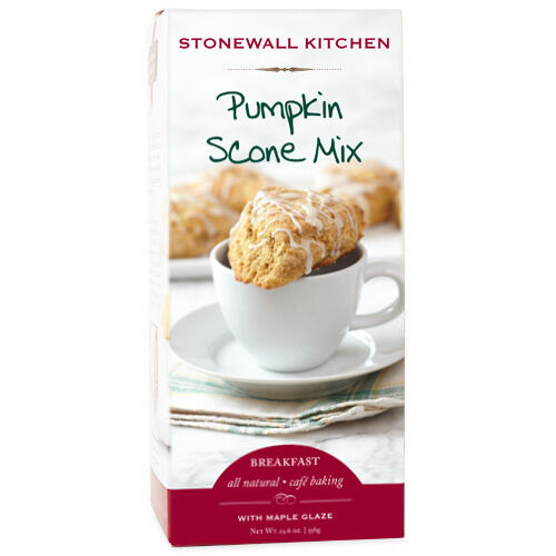 Pumpkin Scone Mix with Maple Glaze