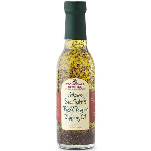 Maine Sea Salt & Black Pepper Dipping Oil