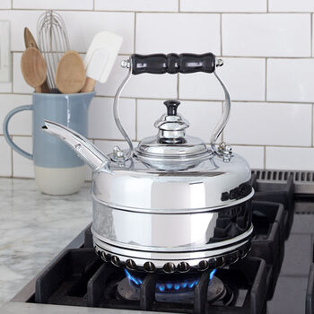 Chrome Plated Copper Kettle