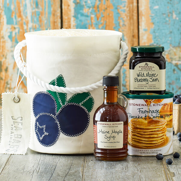 Stonewall Kitchen Blueberry Bucket Breakfast Gift