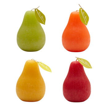 Pear Candle Collection