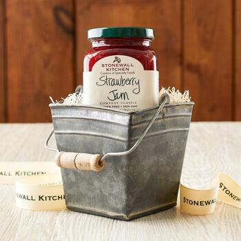 Strawberry Tin Bucket Gift