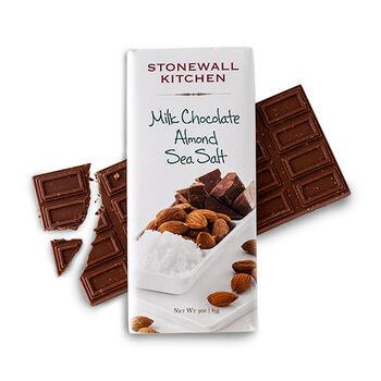 Milk Chocolate Almond Sea Salt Bar