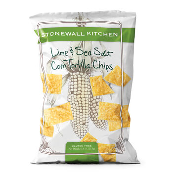 Lime & Sea Salt Corn Tortilla Chips