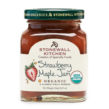 Organic Strawberry Maple Jam