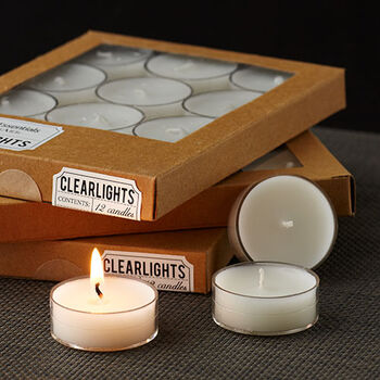 Clearlite Tealights - Ivory