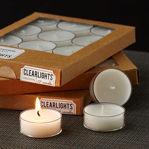 Clearlite Tealights - Ivory
