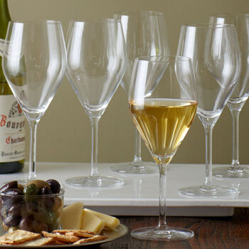 Audience White Wine Glasses