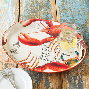 Lobster Metal Tray