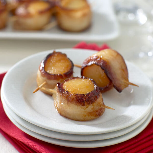 Stonewall Kitchen Scallops Wrapped in Bacon