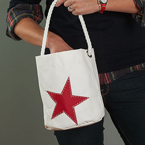 Red Star Bucket Bag