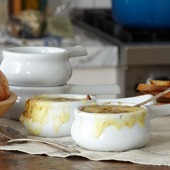 Onion Soup Crock Set