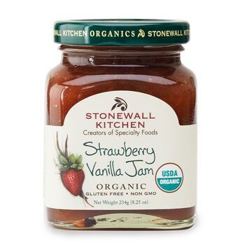 Strawberry Vanilla Jam (Organic)