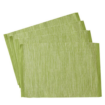 Ribbed Green Placemat
