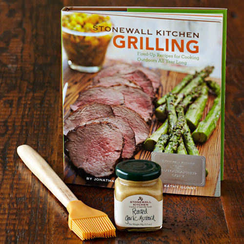 Autographed Stonewall Kitchen Grilling Cookbook